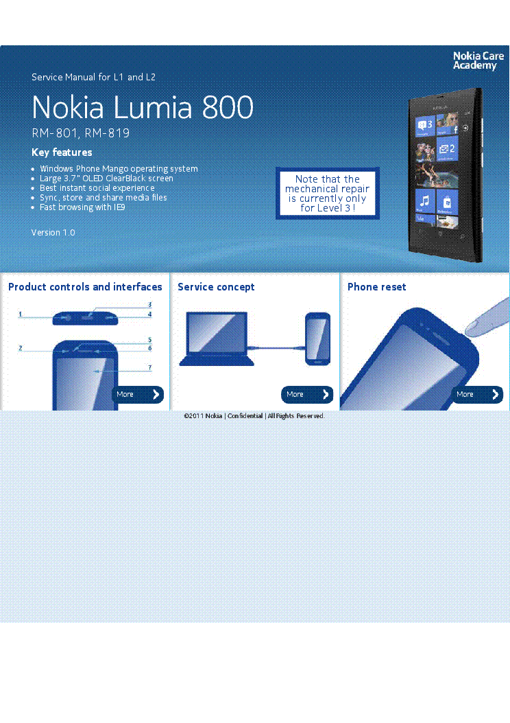 Service manual nokia lumia 900