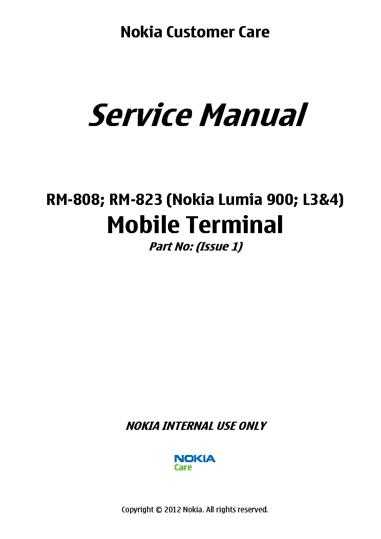 nokia lumia 900 rm 808 rm 823 sm l3 4 v 1 0 service manual download rh elektrotanya com Lumia 950 Lumia 920