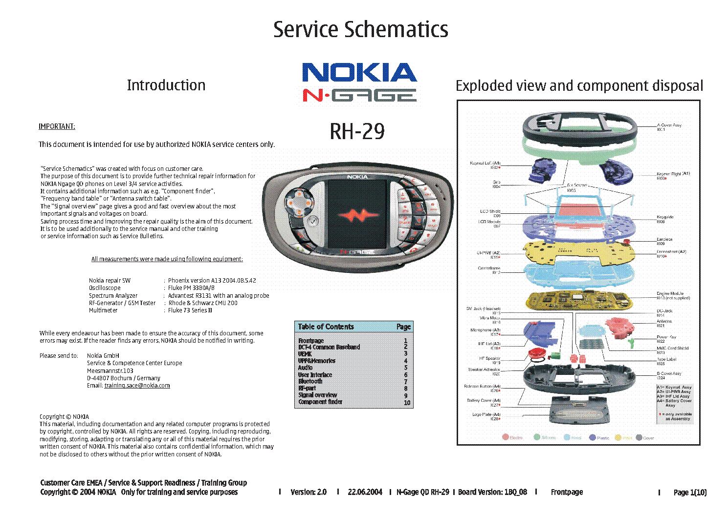 nokia n gage rh 29 service schematics service manual download rh elektrotanya com Nokia N95 Nokia 6610