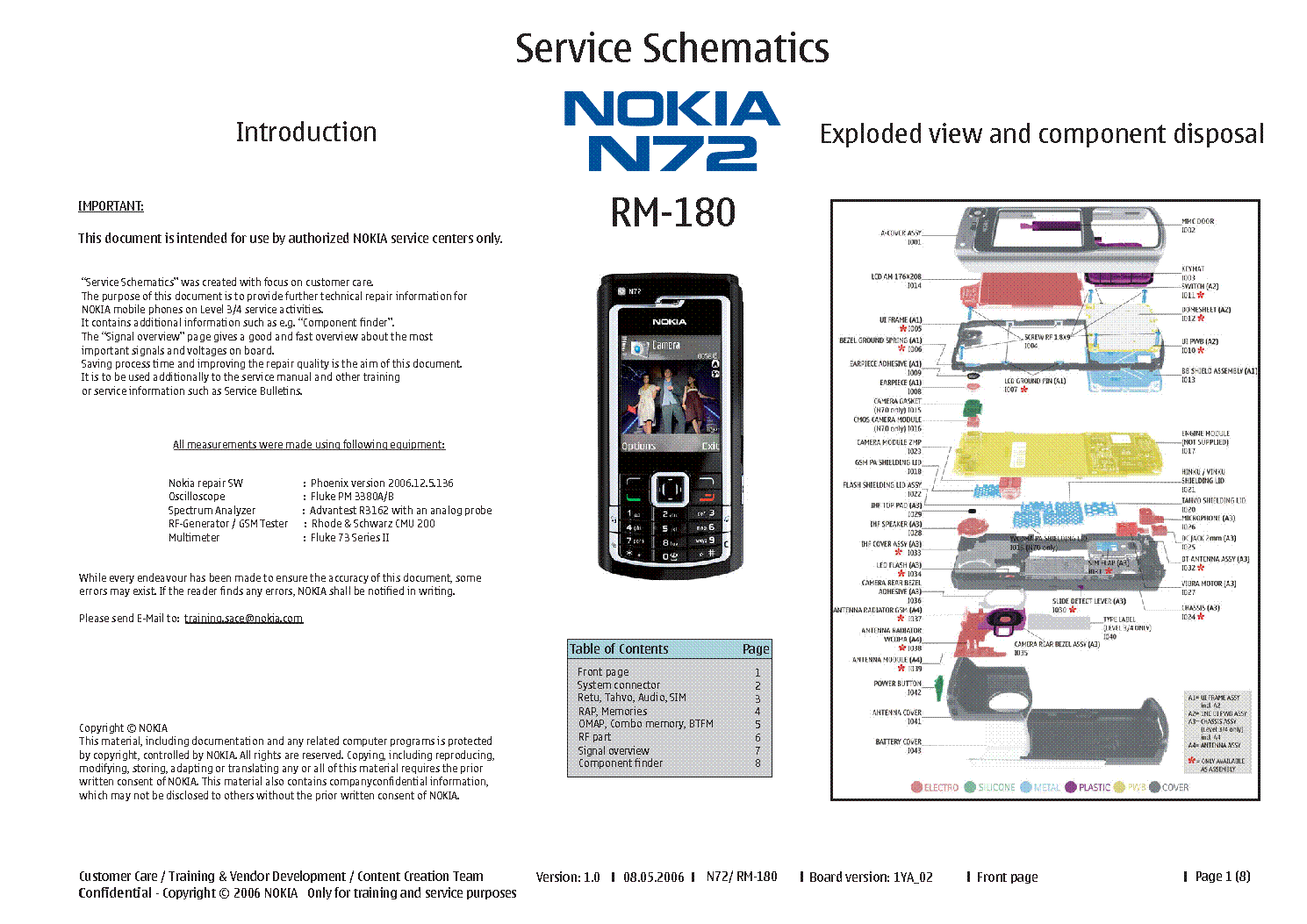nokia n72 rm180 schematics service manual download schematics rh elektrotanya com nokia n72 manual pdf nokia n72 service manual