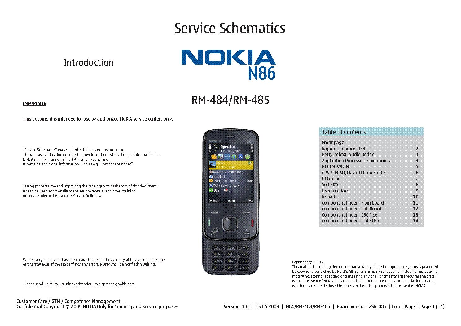 nokia n86 rm