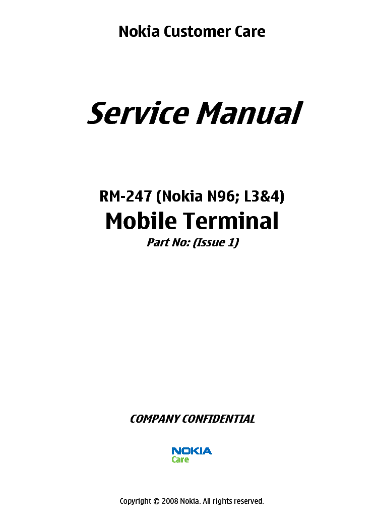 Nokia n96 rm247 rm297 rm472 1 2 service manual download.