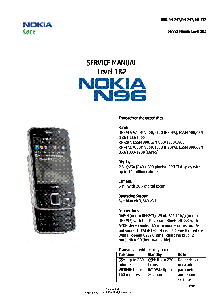 List of synonyms and antonyms of the word: nokia n96 manual.