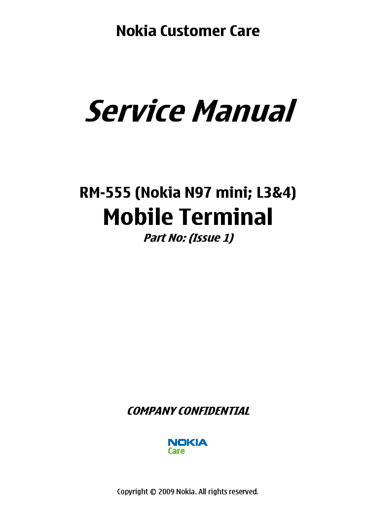 nokia n97 mini rm 555 l34 service manual download schematics rh elektrotanya com N97 Mini Unlocked Nokia N97 Mini -Review