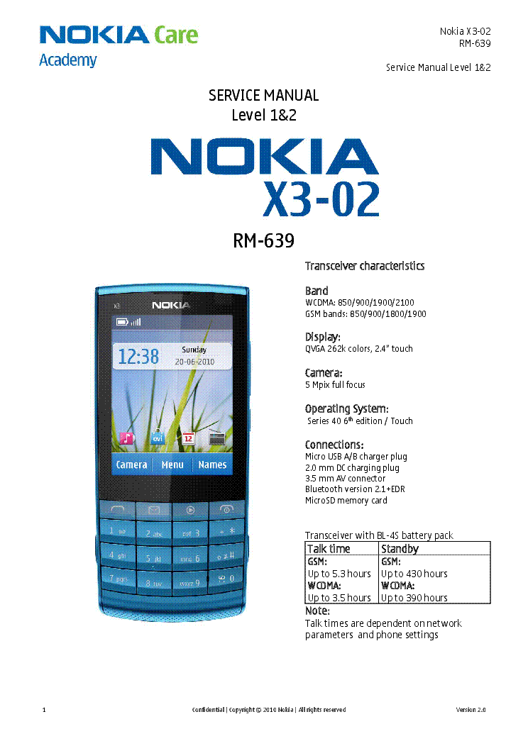 nokia 3600 service manual download schematics eeprom repair info rh elektrotanya com Nokia Touch Screen nokia x3-02 service manual