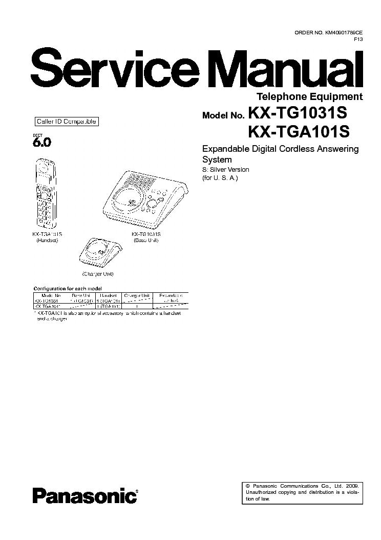 Инструкция panasonic kx tg6411ru