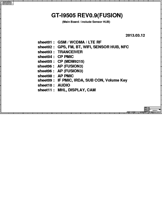 Samsung galaxy s4 – gt-i9505 service manual – service manual.