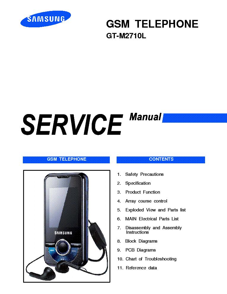 samsung gt m2710 gt m2710l service manual download schematics rh elektrotanya com Samsung Refrigerator Repair Manual samsung m300 manual