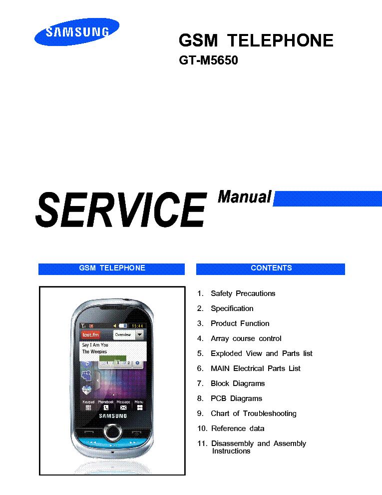 samsung gt m5650 lindy service manual service manual download rh elektrotanya com Samsung TV Repair Manual Samsung Owner's Manual