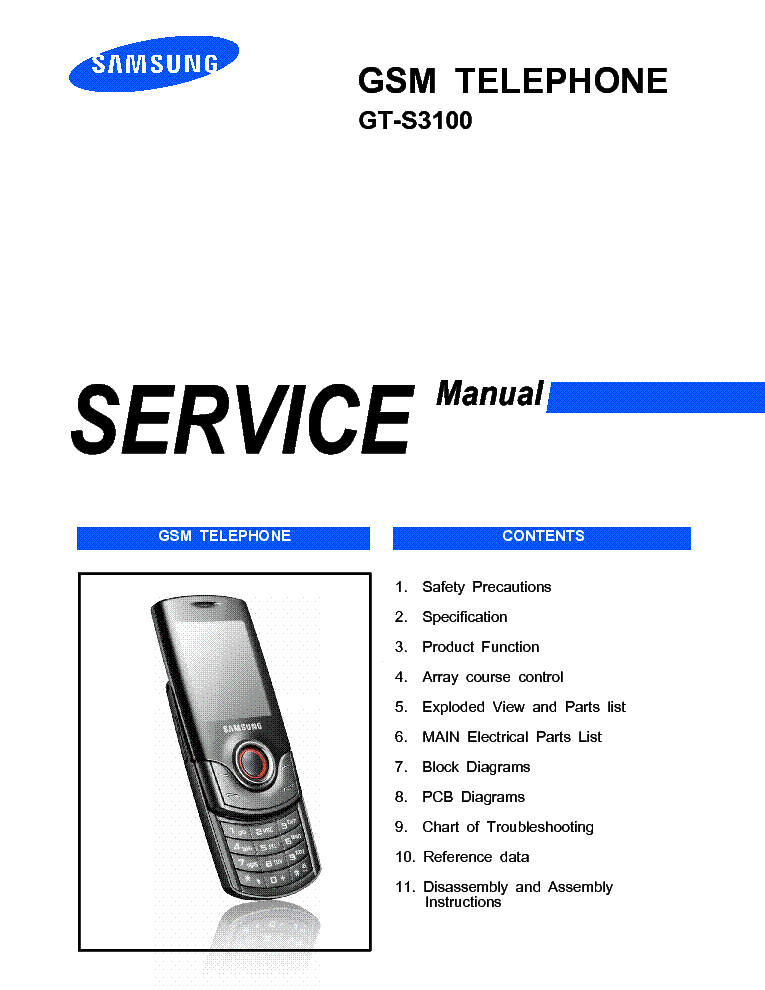samsung gt s3100 croy service manual service manual download rh elektrotanya com nikon s3100 service manual nikon s3100 service manual