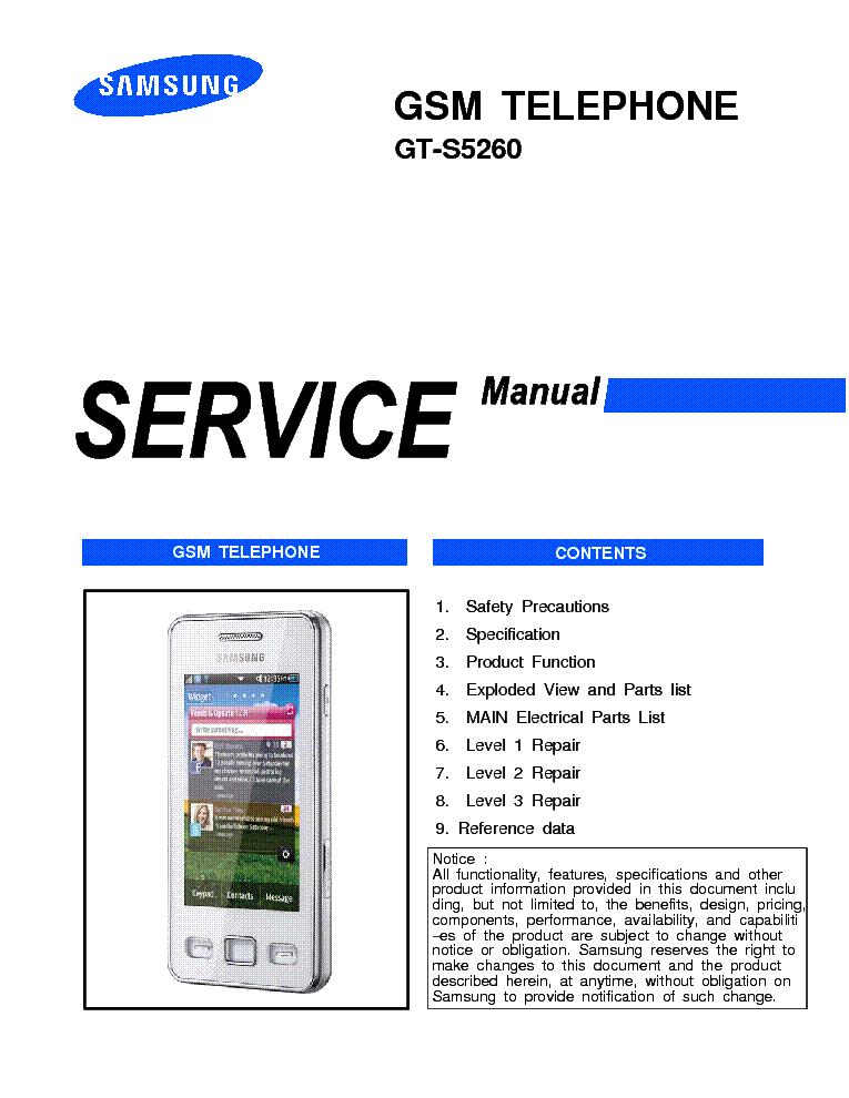 Сервисная инструкция Samsung GT-C3510.