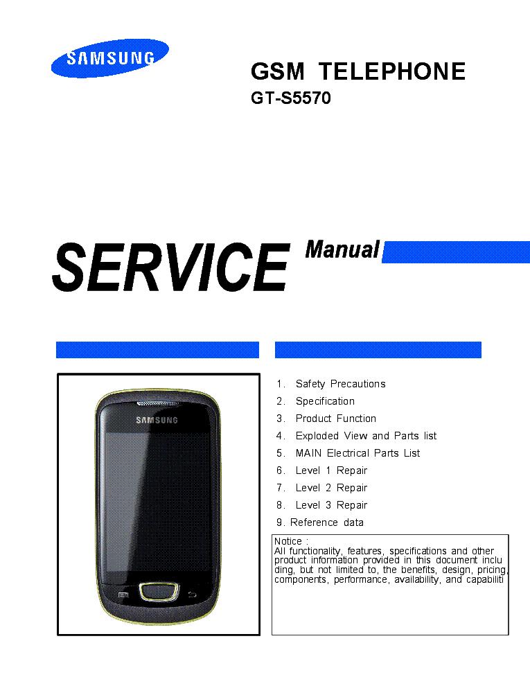 Самсунг gt s5570 инструкция