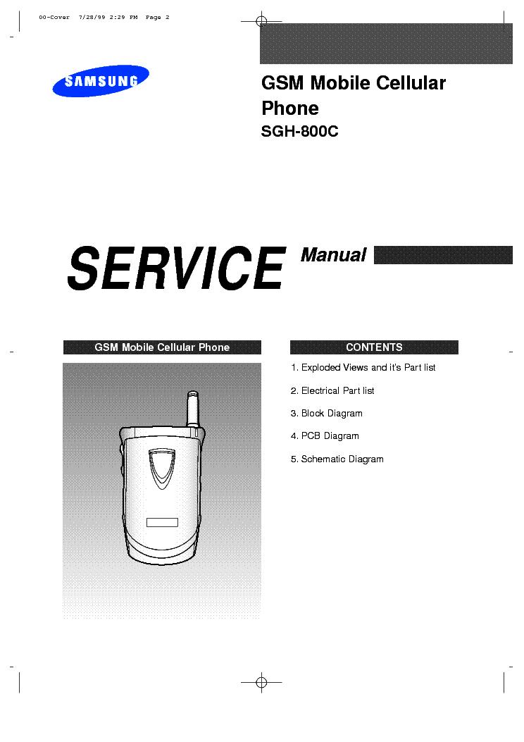 Схема сотового телефона Other SAMSUNG SCH-620.