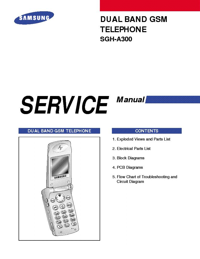 Схема сотового телефона Other SAMSUNG SGH-A300.