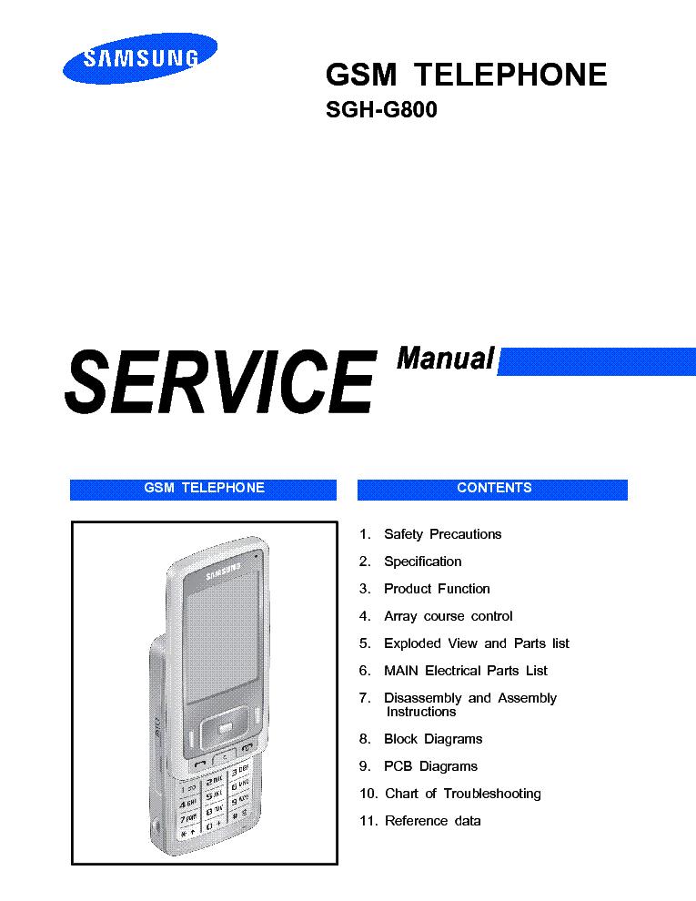 samsung sgh g800 sm service manual download schematics eeprom rh elektrotanya com samsung p800 manual samsung sgh g800 manual