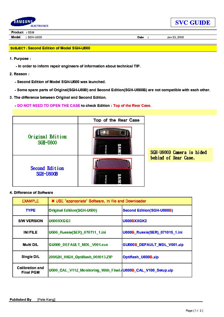 OPTIFLASH U600 GRATUIT TÉLÉCHARGER