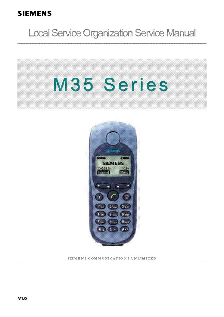 siemens m35 v1 0 service manual download schematics eeprom repair rh elektrotanya com Siemens Euroset 5005 Telephone Manual Siemens OpenStage 40 User Manual