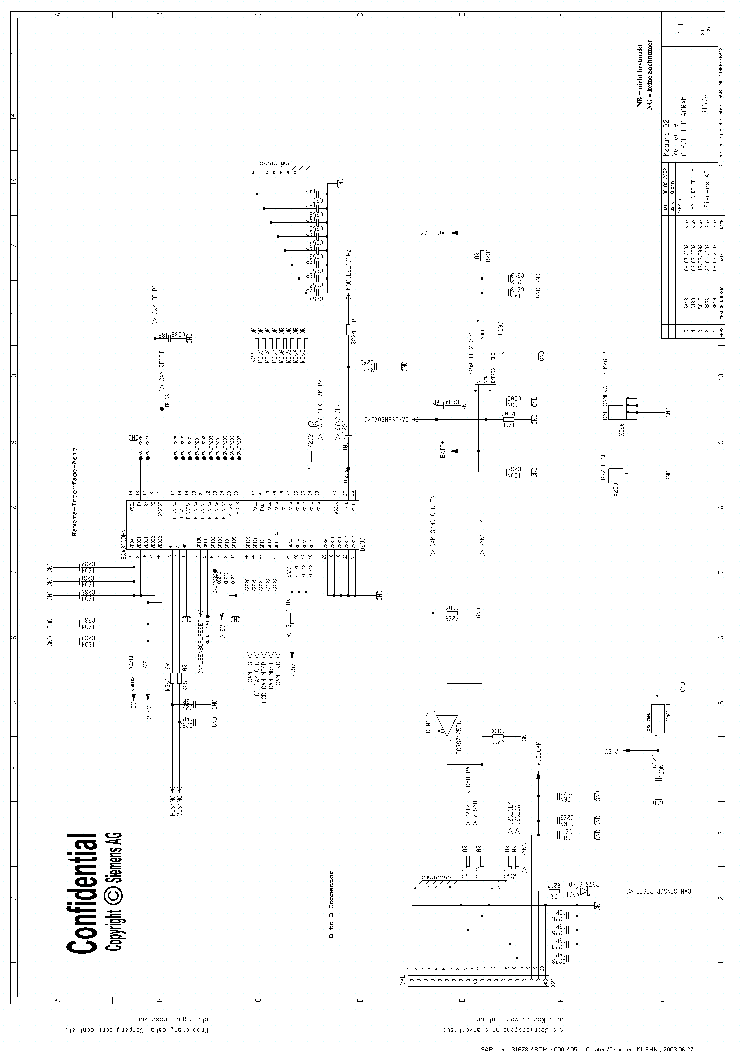 Siemens Mc60 Schematics Service Manual Download