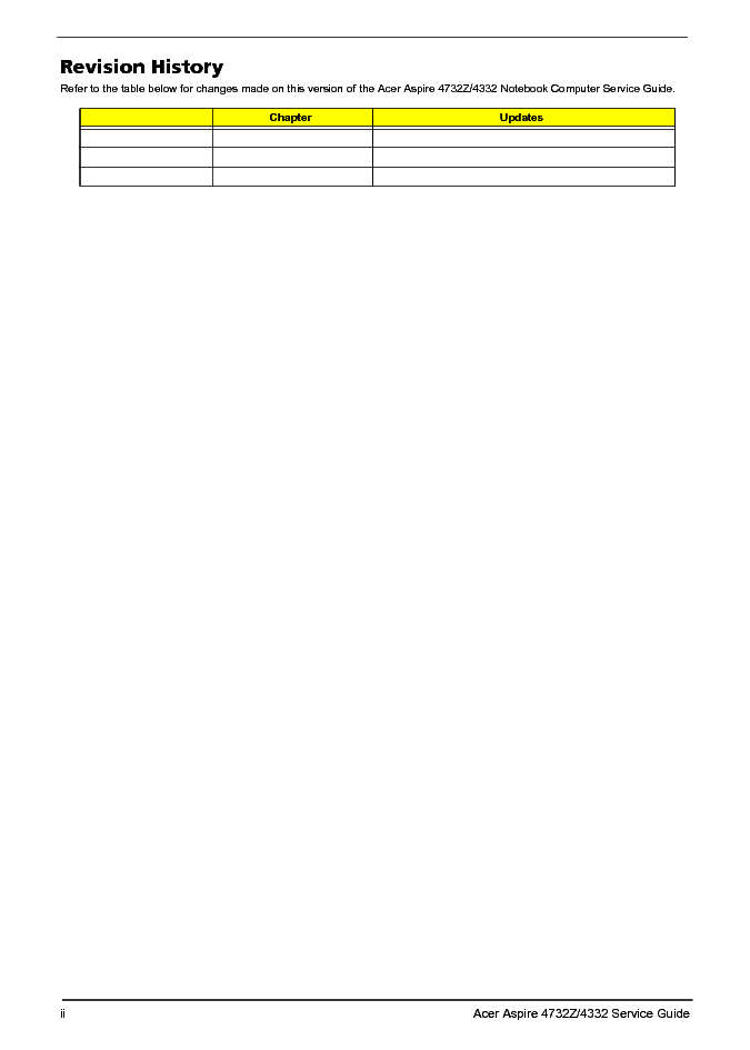 Acer Aspire 4732z 4332 Service Manual Download  Schematics