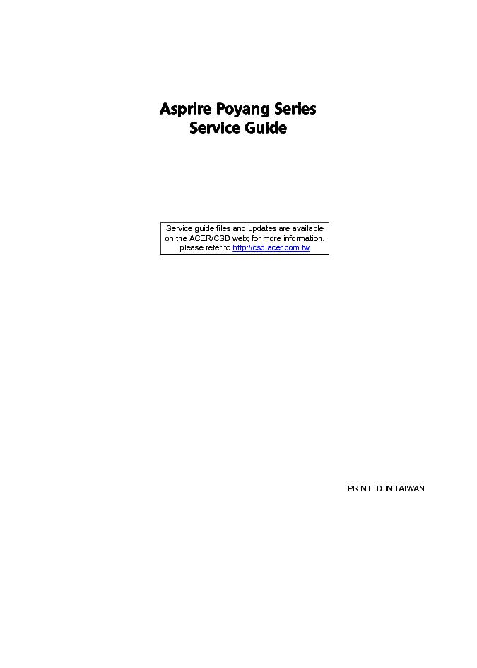 Acer aspire 7720 series manuals.