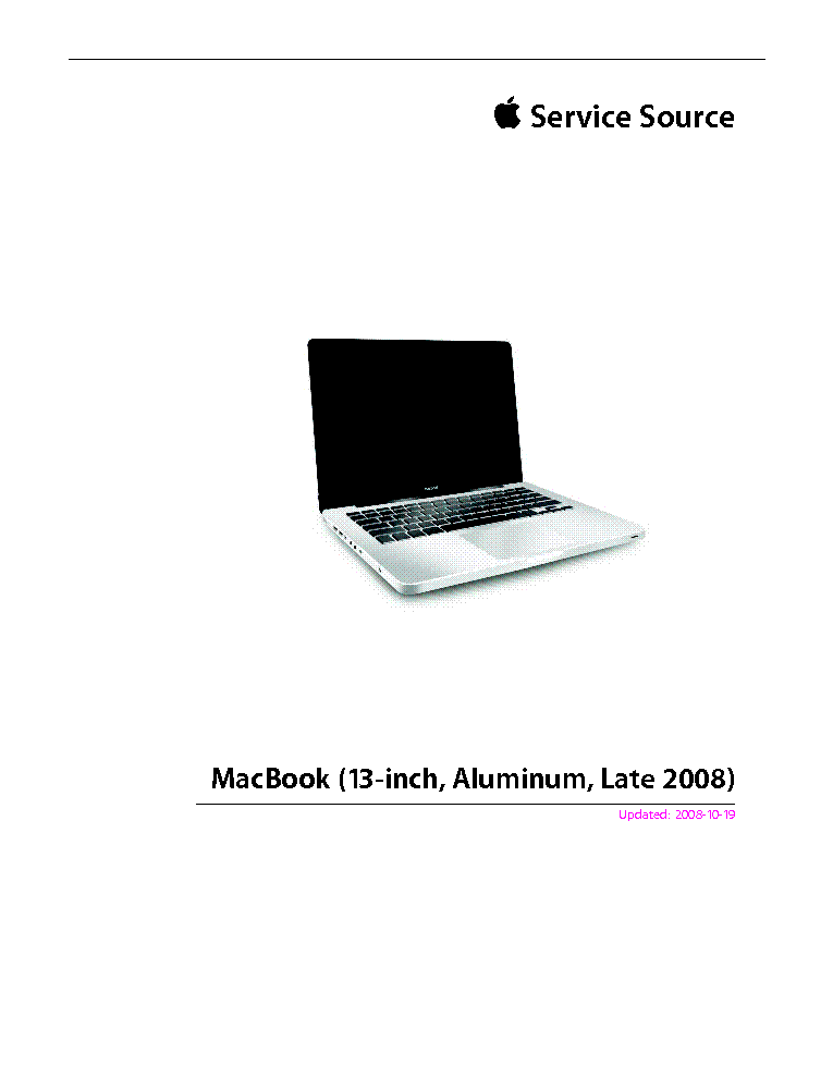 ... This picture is a preview of APPLE MACBOOK 13-INCH ALUMINUM LATE 2008