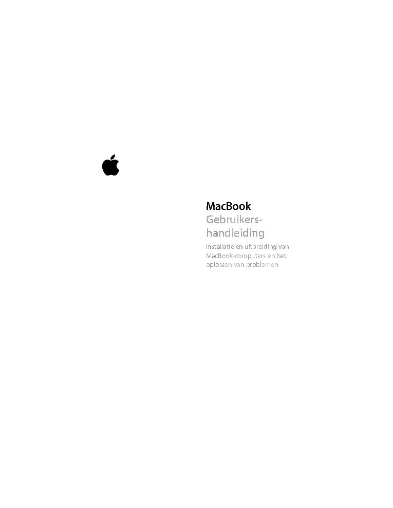 apple macbook 13inch a1181 service manual download schematics rh elektrotanya com macbook a1181 repair manual pdf Apple MacBook Manual