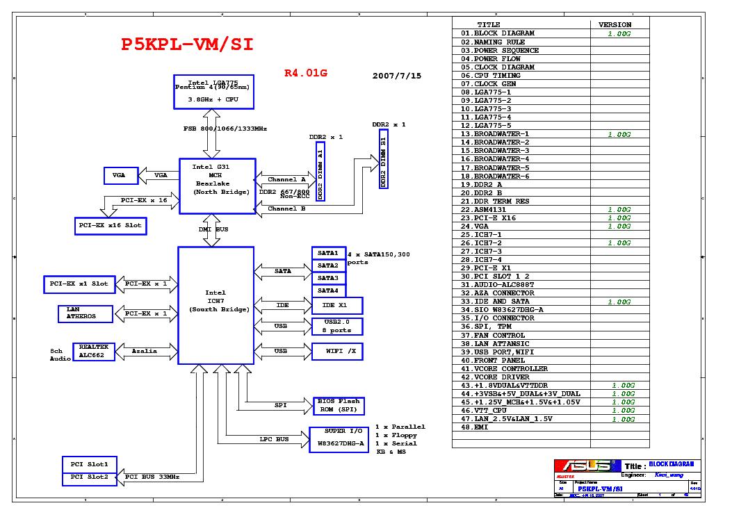 Asus p5kpl-vm мануал на русском