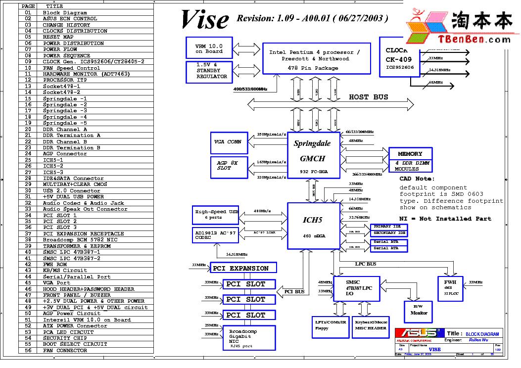 ASUS VISE REV 1.09 SCH