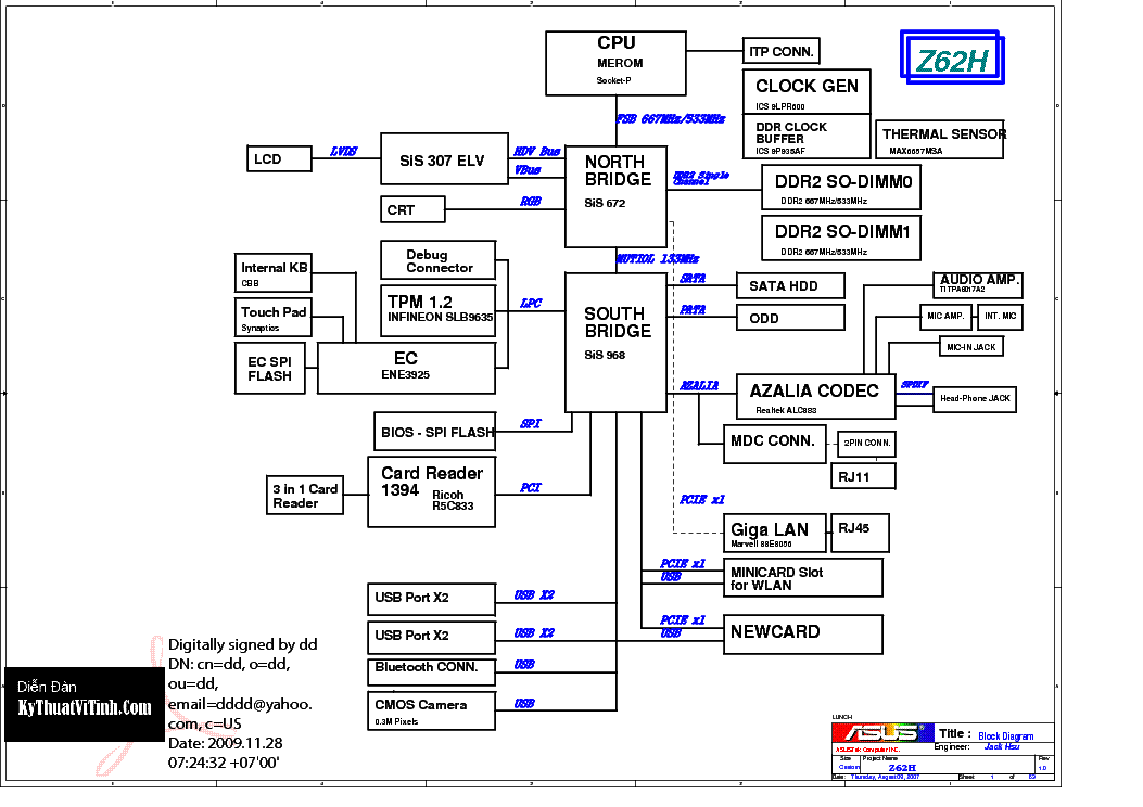 Motherboard wiring diagramzzitek 100 laptop motherboard asus wiring diagram block diagram of laptop motherboard the asfbconference2016 Gallery