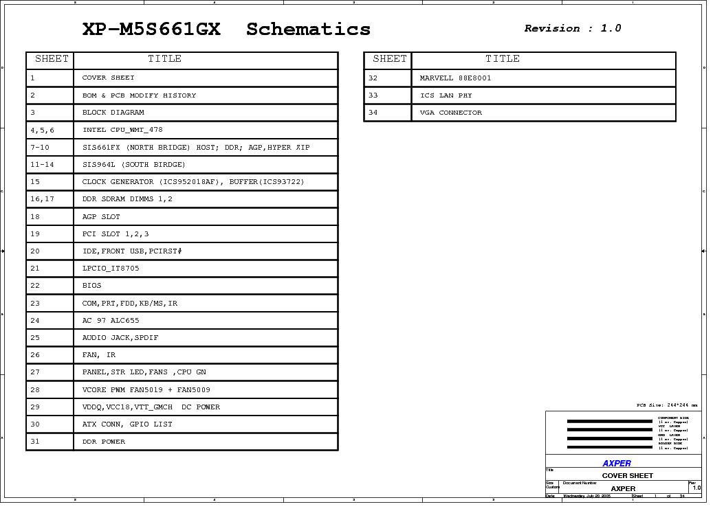 AXPER XP-M5S661GX DRIVERS PC