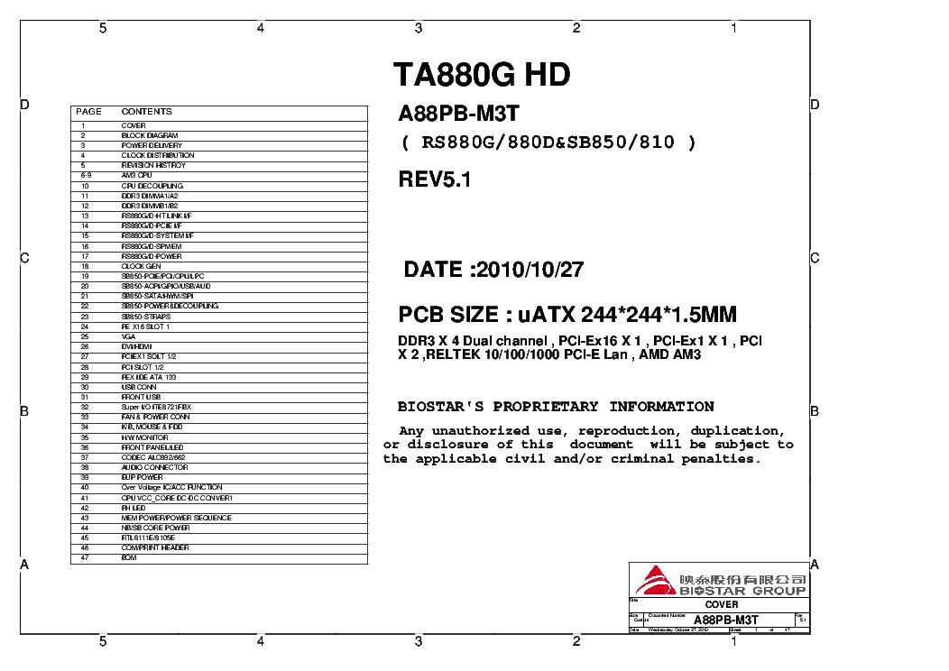 Biostar TA880G HD Ver. 5.x Driver UPDATE