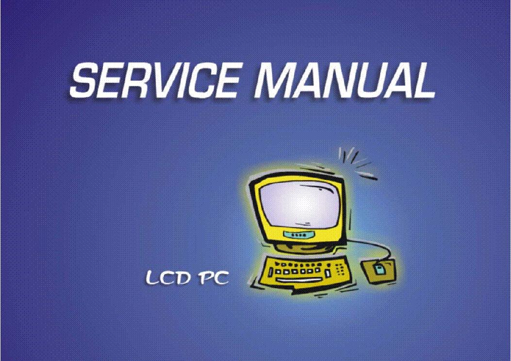 Сервис-мануал + схема ноутбука, инструкция по ремонту (service manual).  Schematic diagram (схема). на английском...