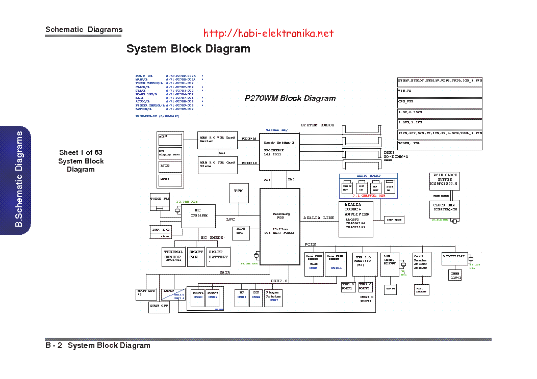 clevo p170sm service manual