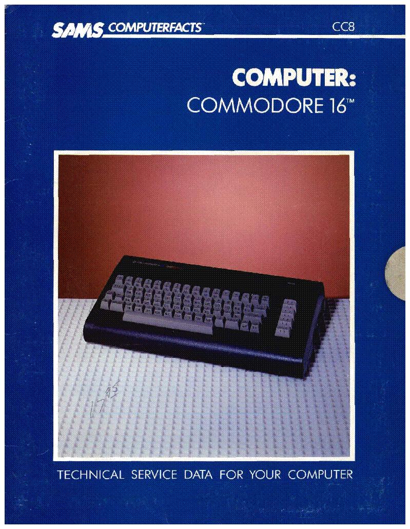 Commodore C16 1984