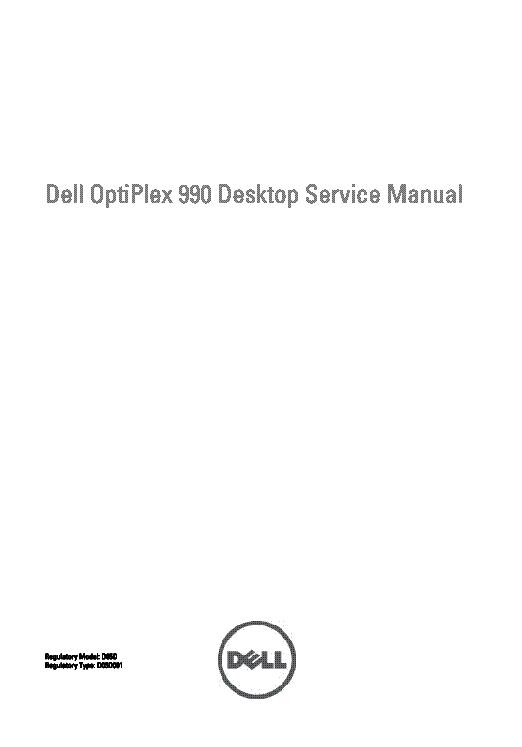 Dell Optiplex 990 Sm Service Manual Download  Schematics