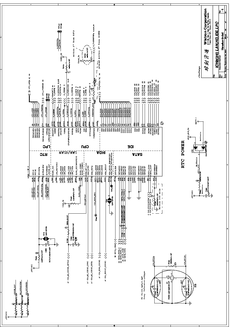 dell xps m1530 wistron dh3 hawke-intel rev -1 sch service manual (2nd