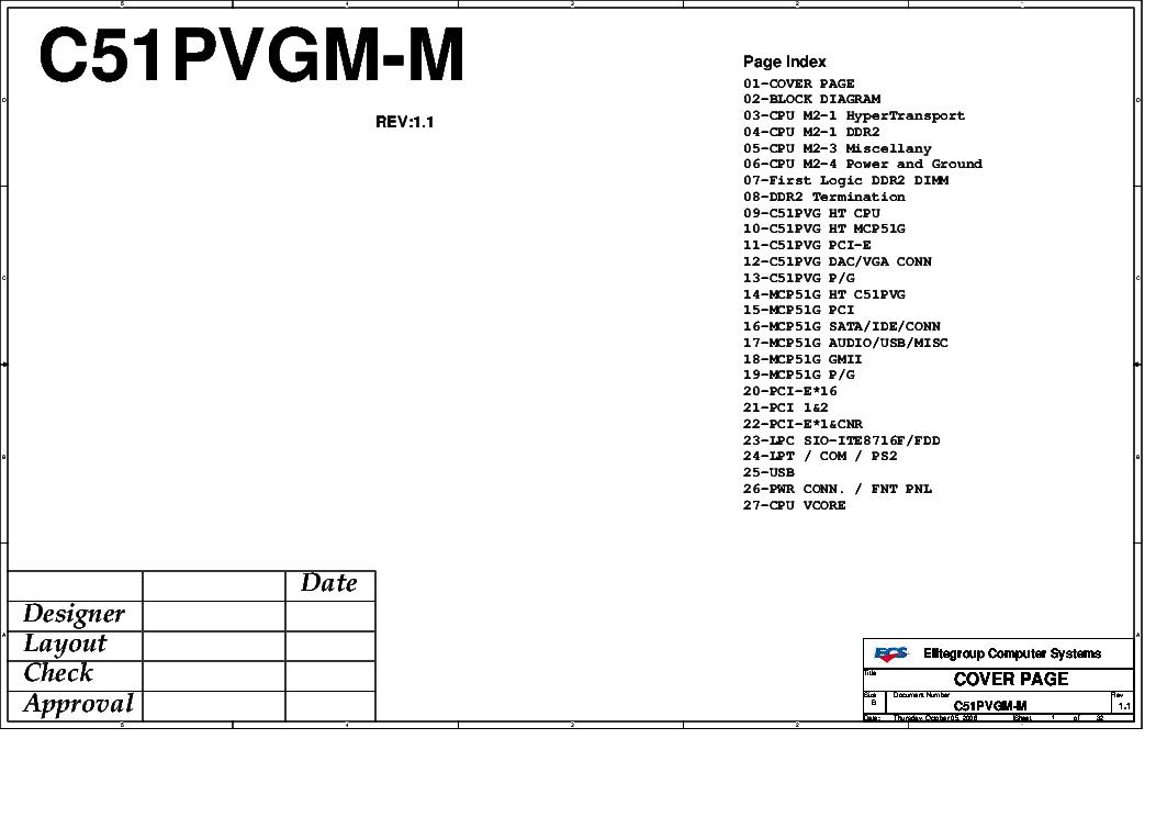 ecs p4m890t