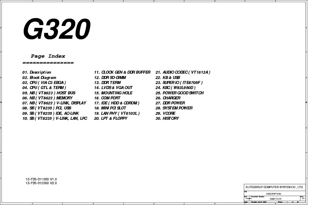 ECS ELITEGROUP G320 WINDOWS 8.1 DRIVER