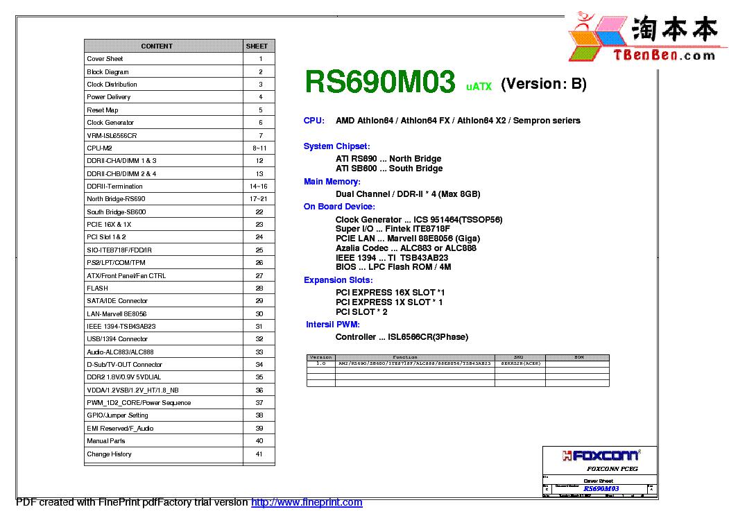 foxconn rs690m03 ver b rev a sch service manual download