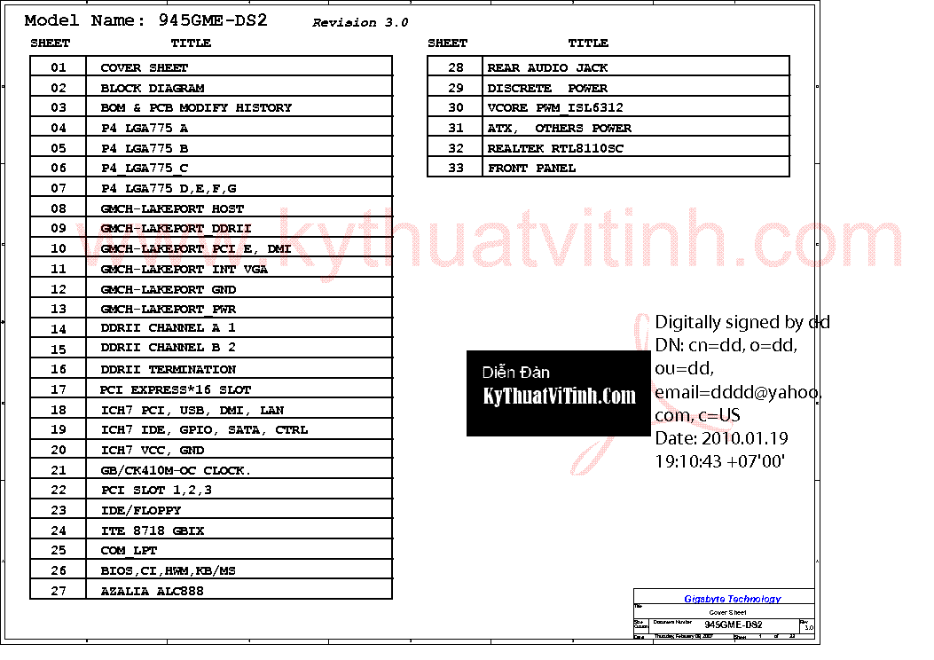 Gigabyte GA-945GME-DS2 Rev 3.0 Windows 8 X64