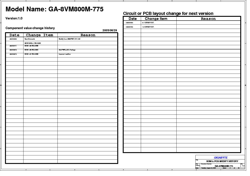 DRIVERS: GIGABYTE GA-8VM800M-775 (REV. 1.0)