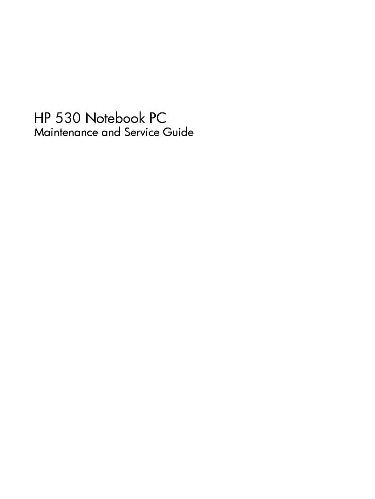 hp 530 laptop service manual internet information rh aonenet blogspot com HP Manuals PDF hp 530 notebook service manual