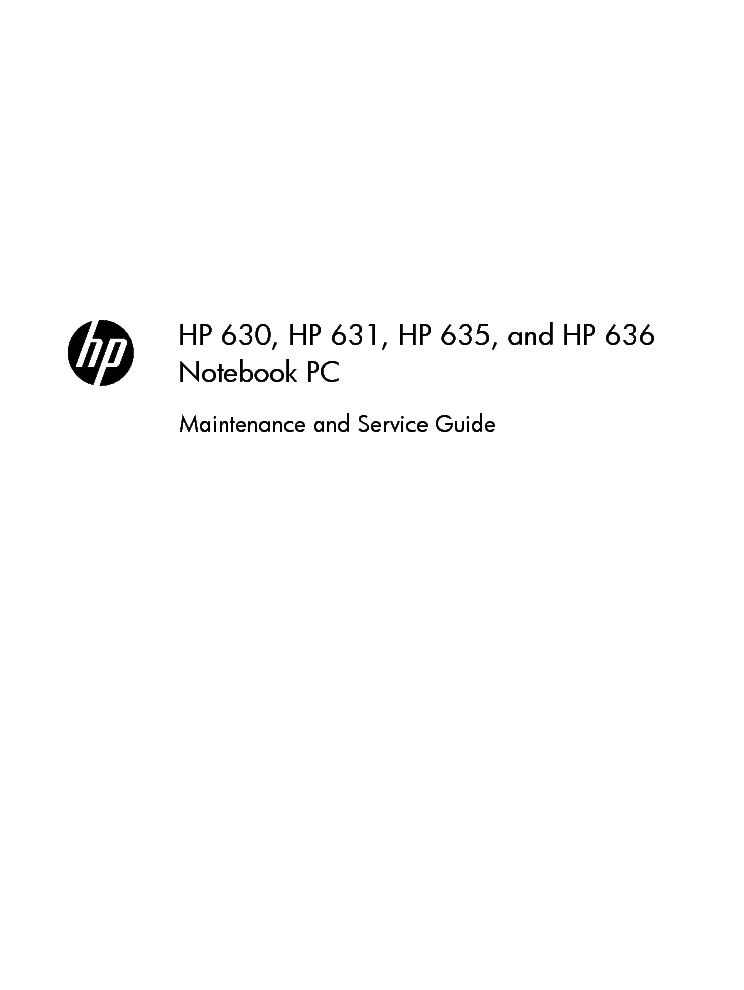 hp 630 631 635 636 sm service manual download schematics eeprom rh elektrotanya com hp 630 service maintenance guide HP 630 Laptop I3