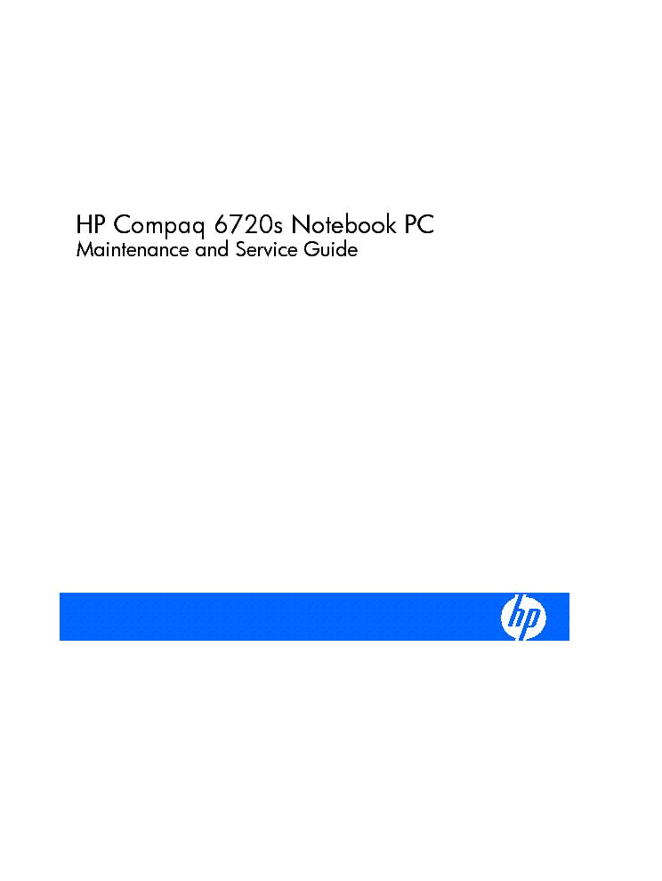 hp compaq 6720s service manual download schematics eeprom repair rh elektrotanya com HP Compaq Laptop hp compaq 6720s service manual free download