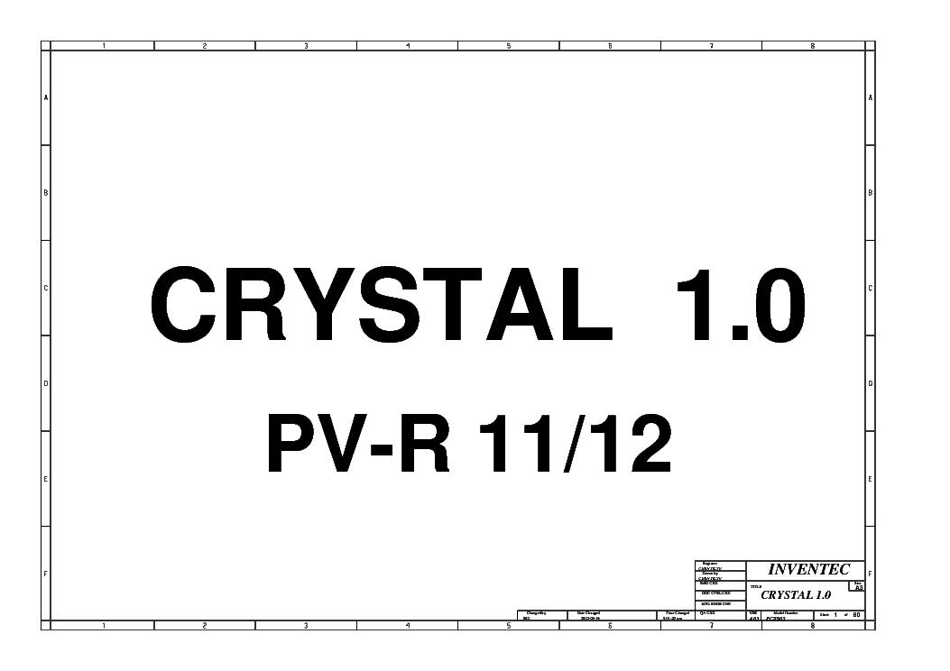 hp compaq nx5000 inventec crystal 1 0 rev a03 sch service