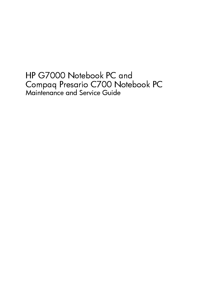 hp g7000 compaq presario c700 service manual download schematics rh elektrotanya com