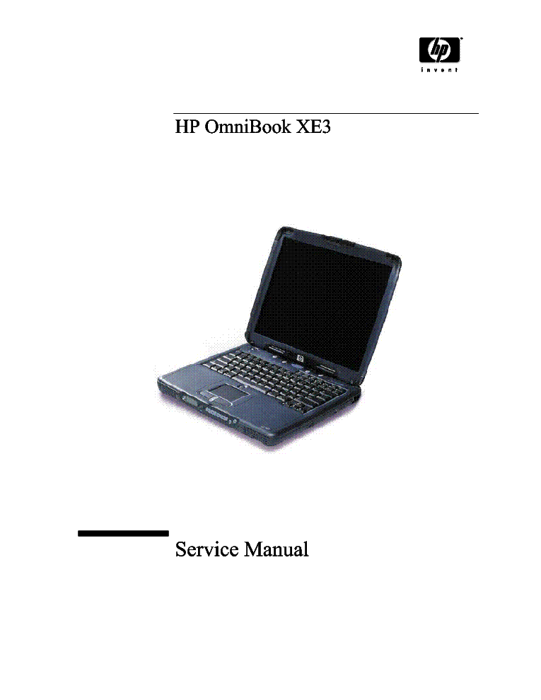 HP OMNIBOOK XE3 Service Manual free download, schematics, eeprom ...