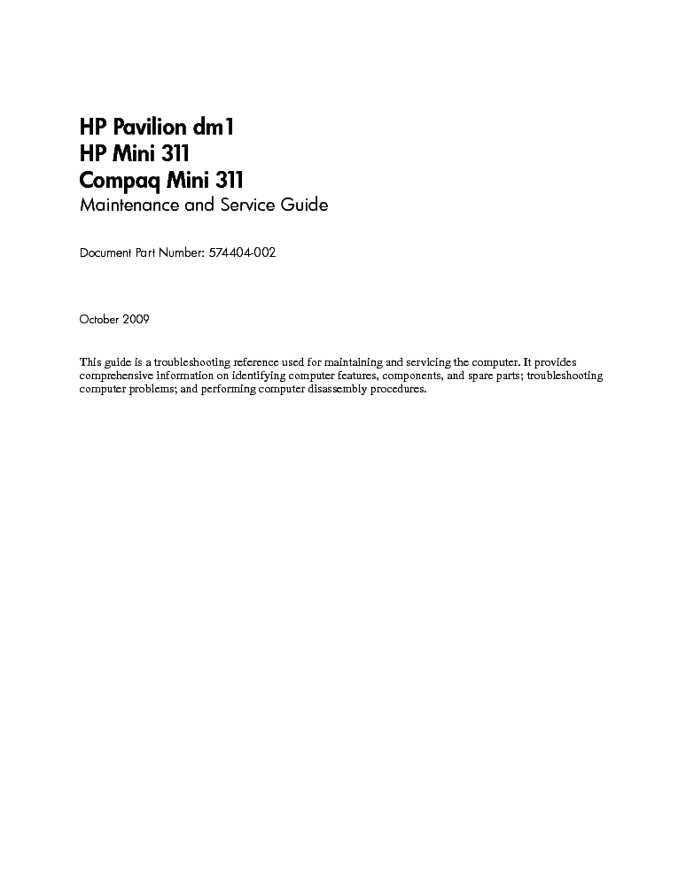 Computer information: hp laptop charger service manual.