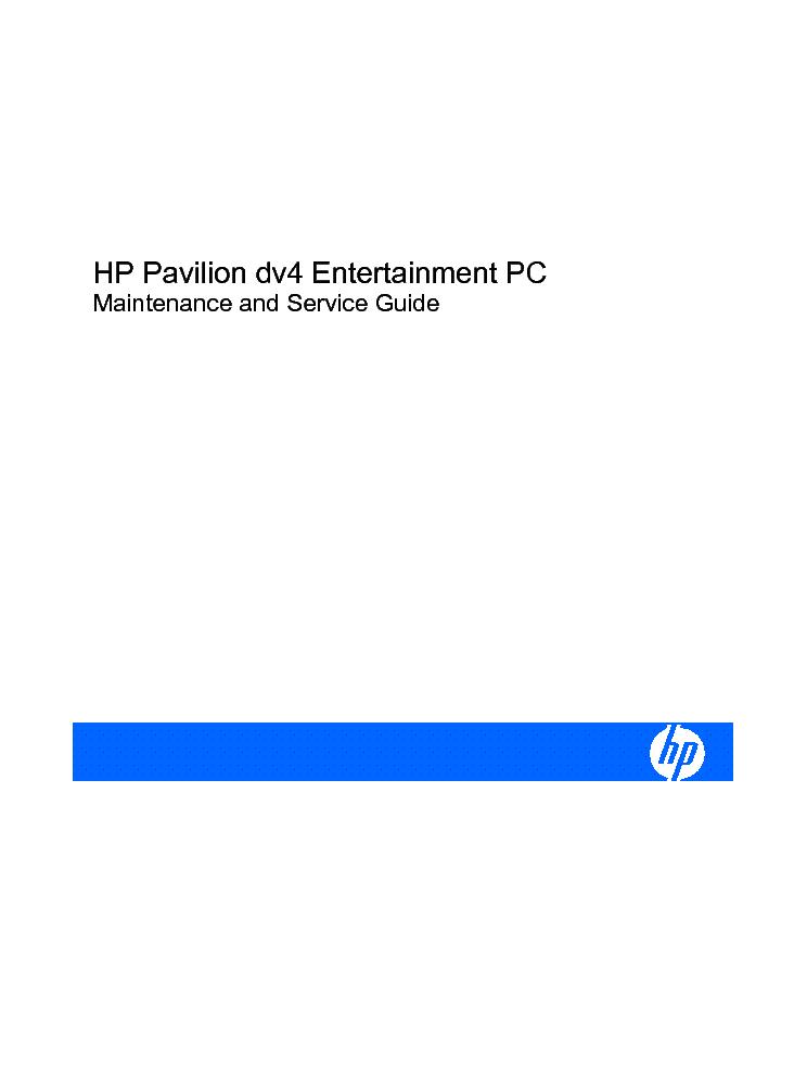 hp pavilion dv4 service manual download schematics eeprom repair rh elektrotanya com hp pavilion dv4 service manual pdf hp pavilion dv4 owners manual