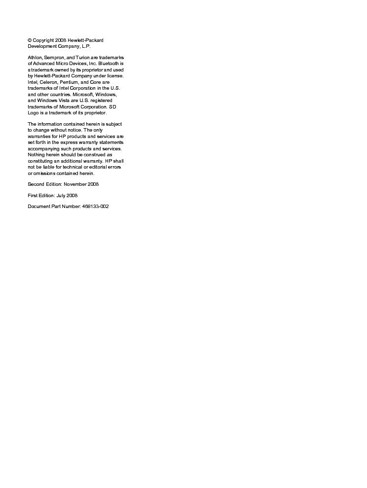 HP PAVILION DV4 Service Manual download, schematics, eeprom